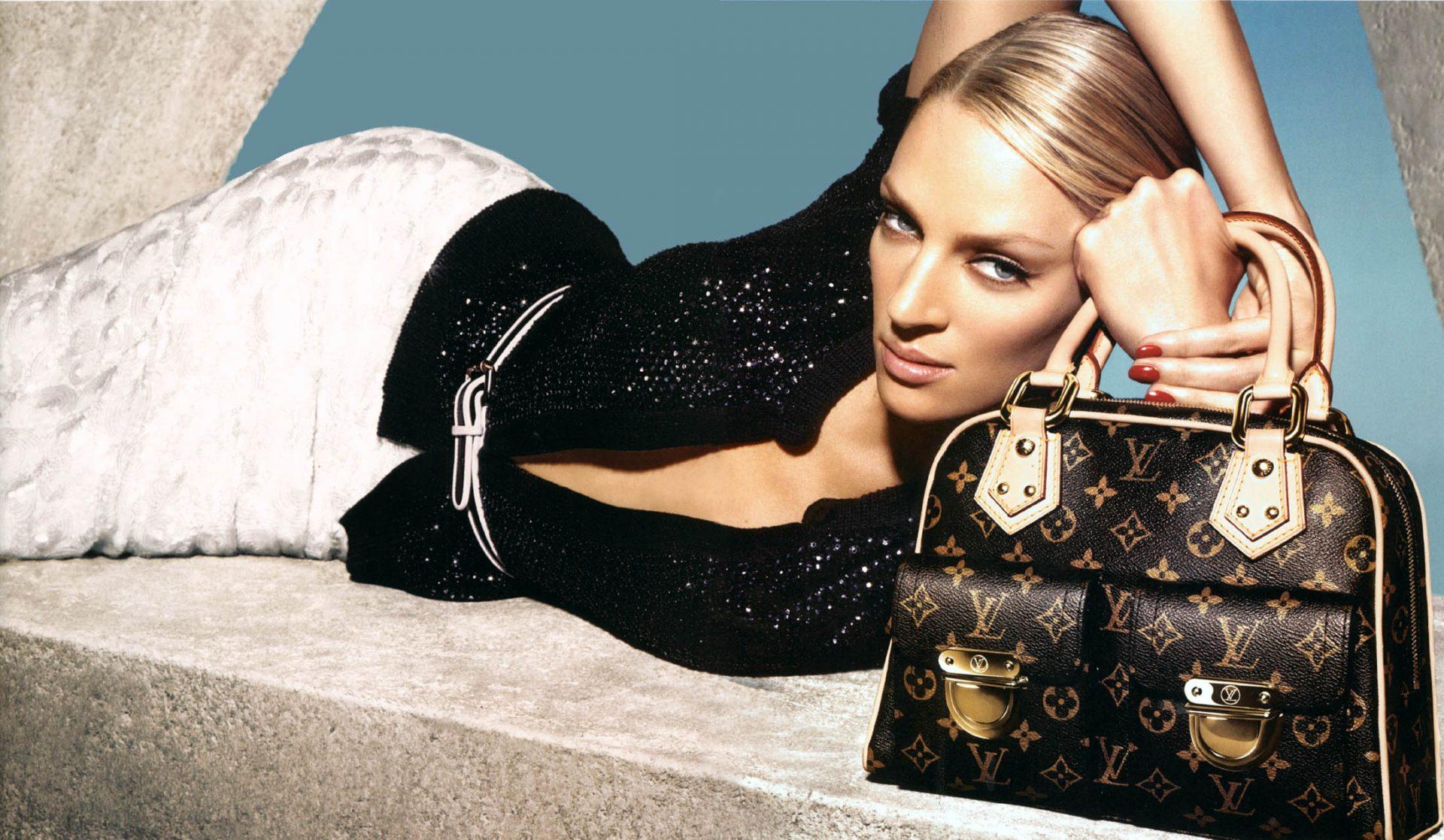 Mame Fashion Dictionary: Louis Vuitton Uma Thurman Campaign