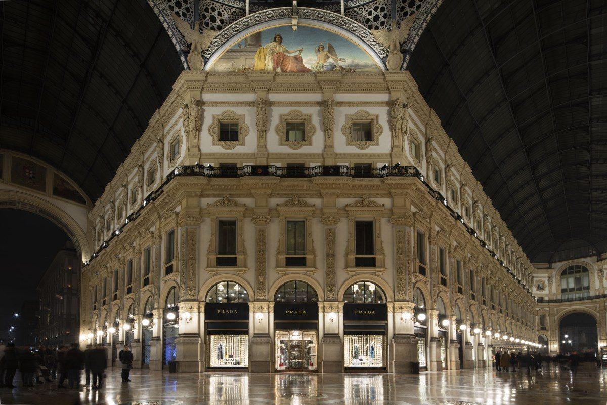 Mame Fashion Dictionary: Prada Store Milan
