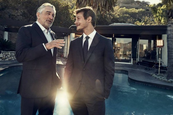 """Mame Fashion Dictionary: Robert De Niro and McCaul Lombardic the """"Defining moments"""" Campaign 2017"""