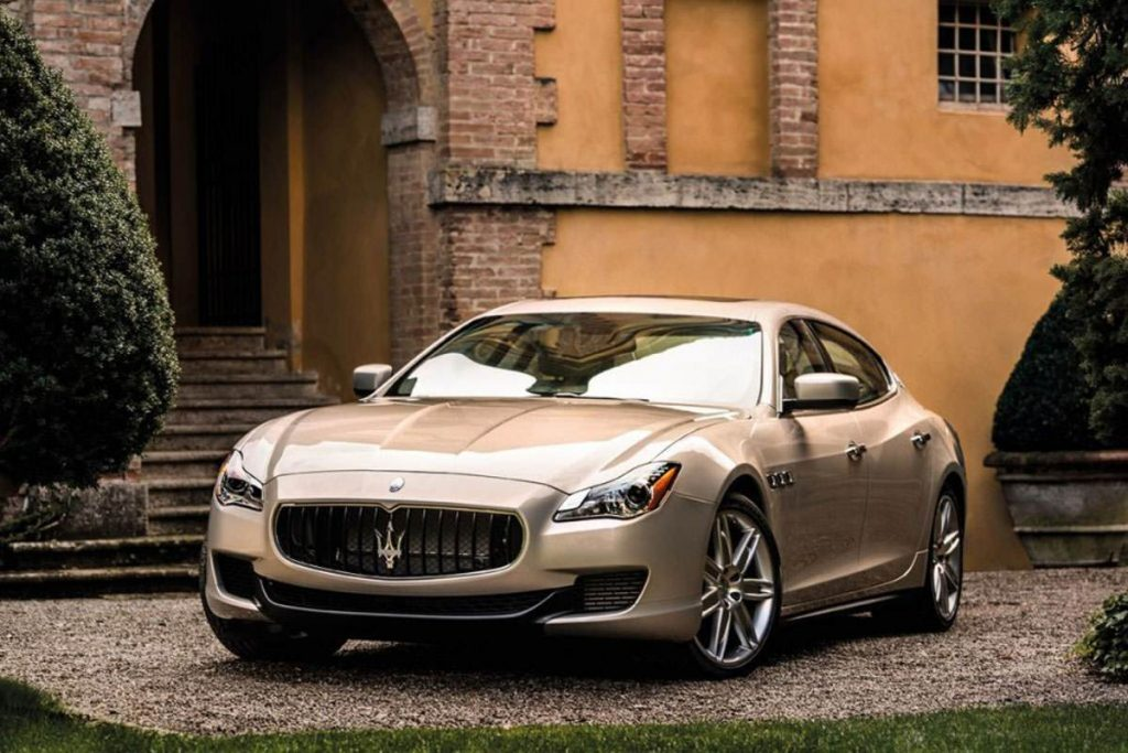 Mame Fashion Dictionary: The Maserati Quattroporte Limited Edition by Zegna