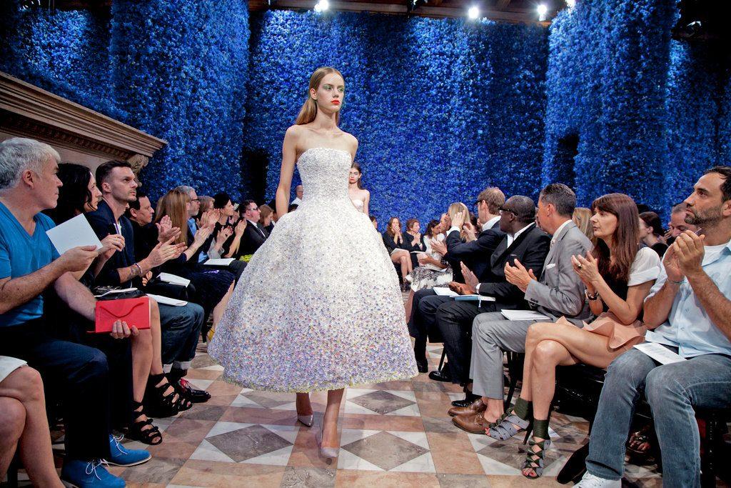Mame Fashion Dictionary: Raf Simons First Dior Haute Couture Show