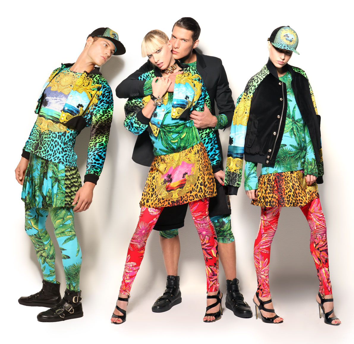 Versace Collaboration With H&M 2011 Campaign