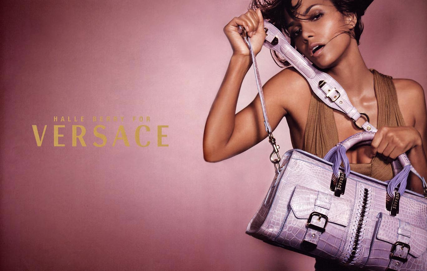Halle Berry For Versace Campaign