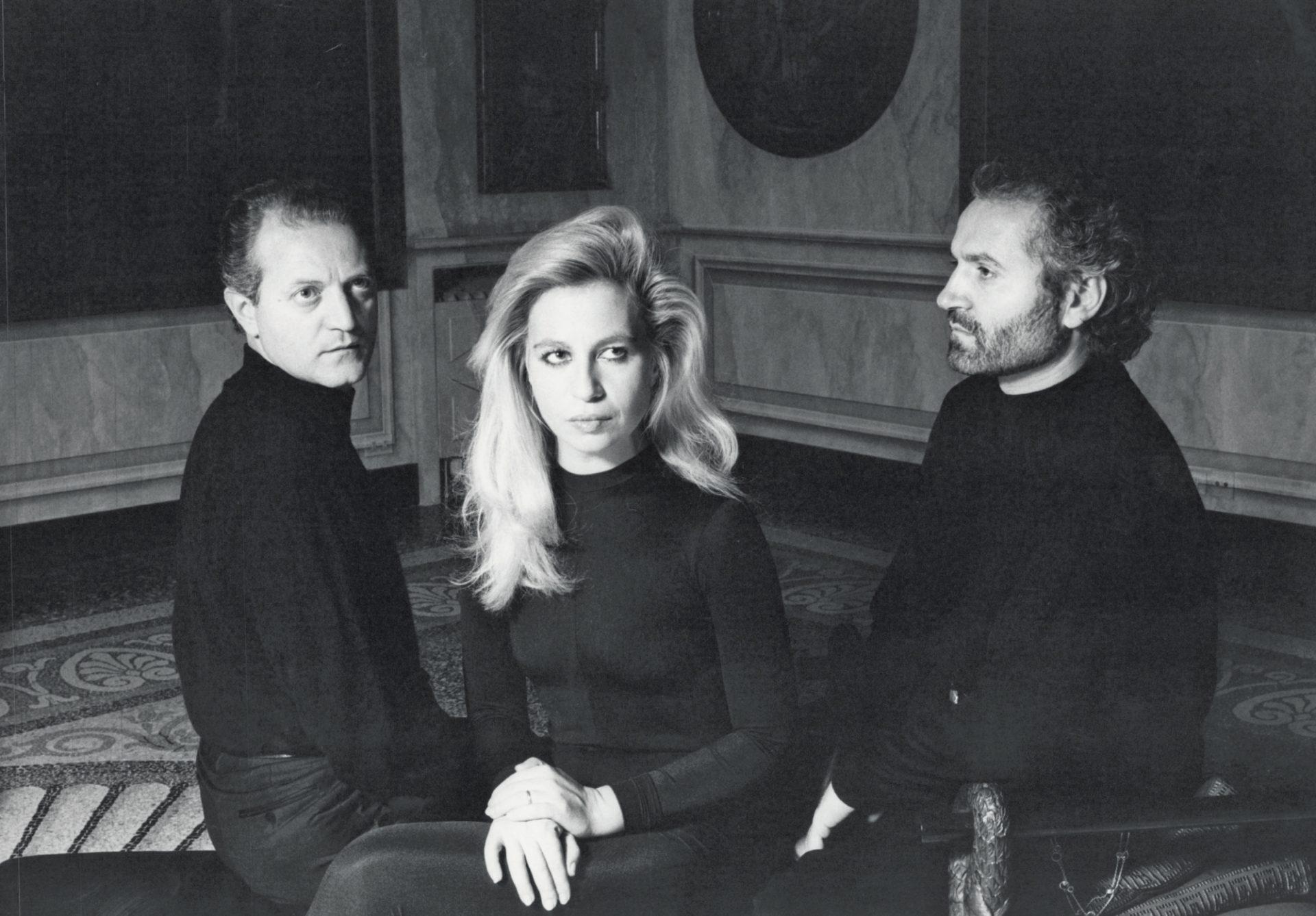Young Santo, Donatello and Gianni Versace