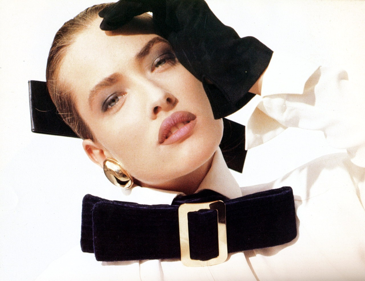 Gianfranco Ferre FW 87 Photographed by Herb Ritts