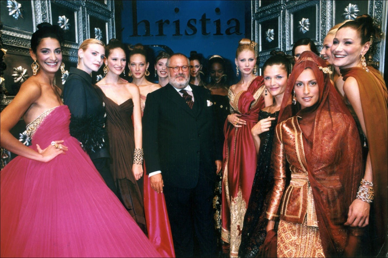 Gianfranco Ferre Dior Haute Couture Spring/Summer 96 Show in France