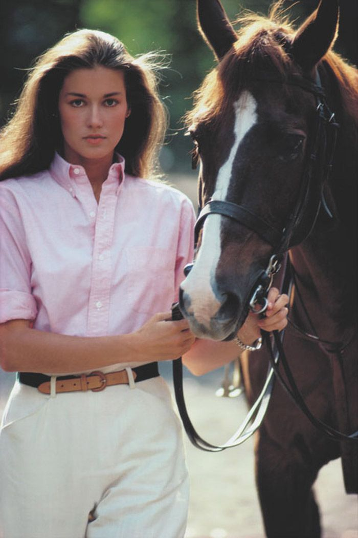 Mame Fashion Dictionary: Ralph Lauren First Collection of Fitted Shirt's