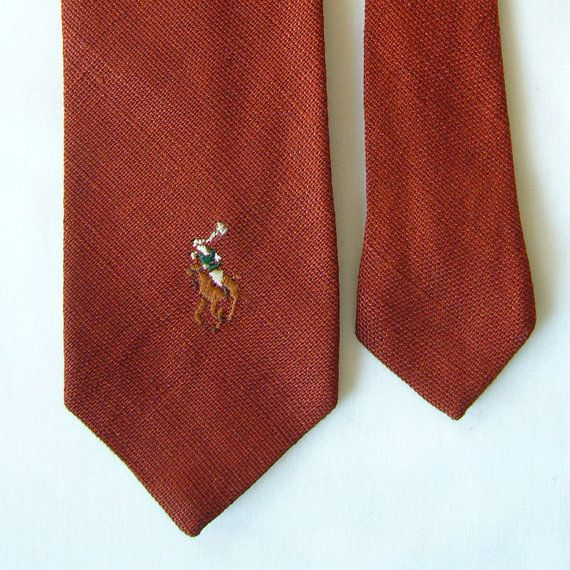 Mame Fashion Dictionary: Ralph Lauren First Tie Collection ...