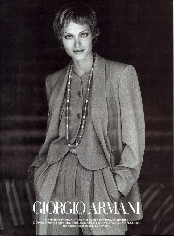 Armani 1993 Campaign