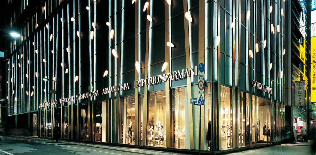 Mame Fashion Dictionary: Armani Concept Store in Japan