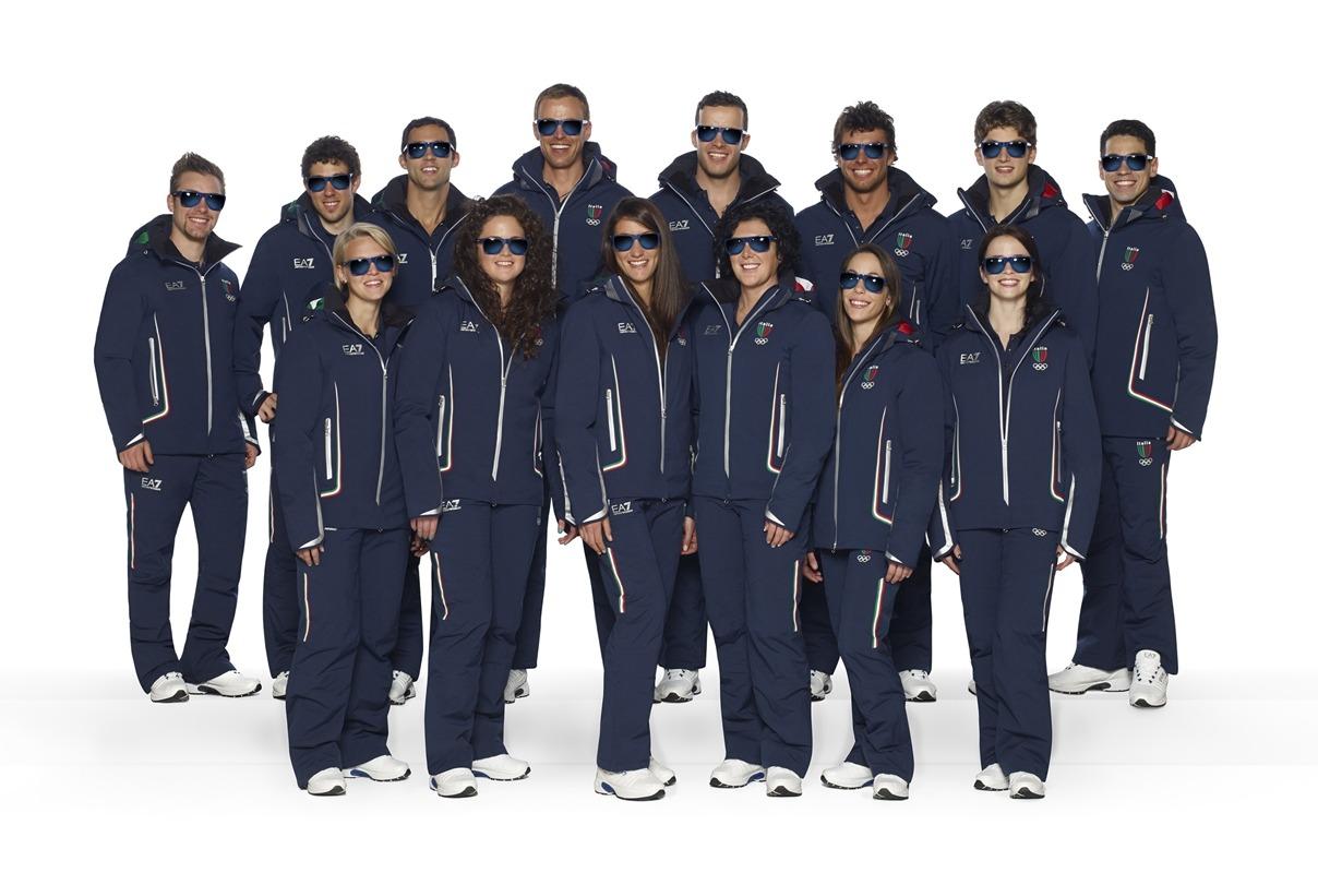 Armani Dress Italian Olympic Team
