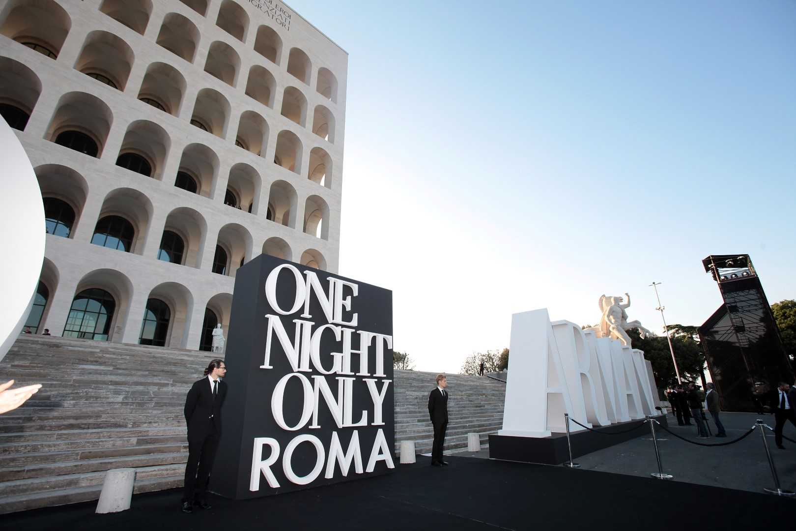 Mame Fashion Dictionary: Armani One Night Only Event