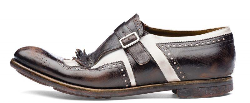 Mame Fashion Dictionary: Church's Shanghai Ebony White Classic Shoe