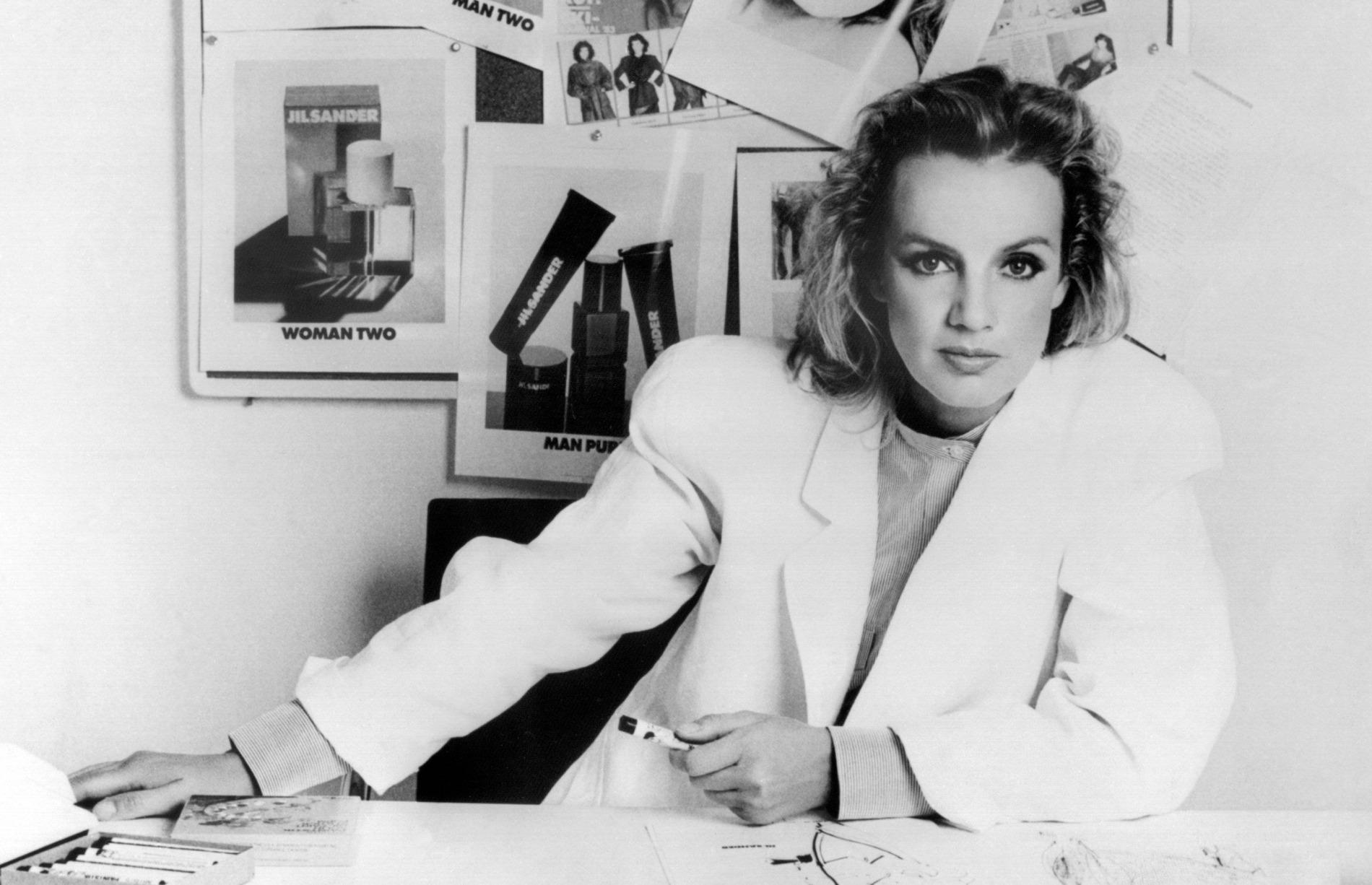 Jil Sander Designer Portrait in 1983
