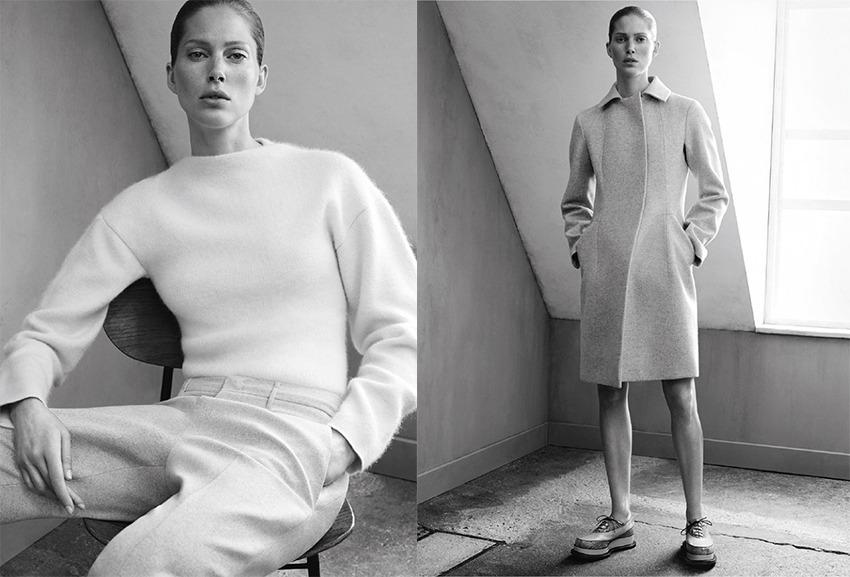 Jil Sander Brand Identity: Minimalist