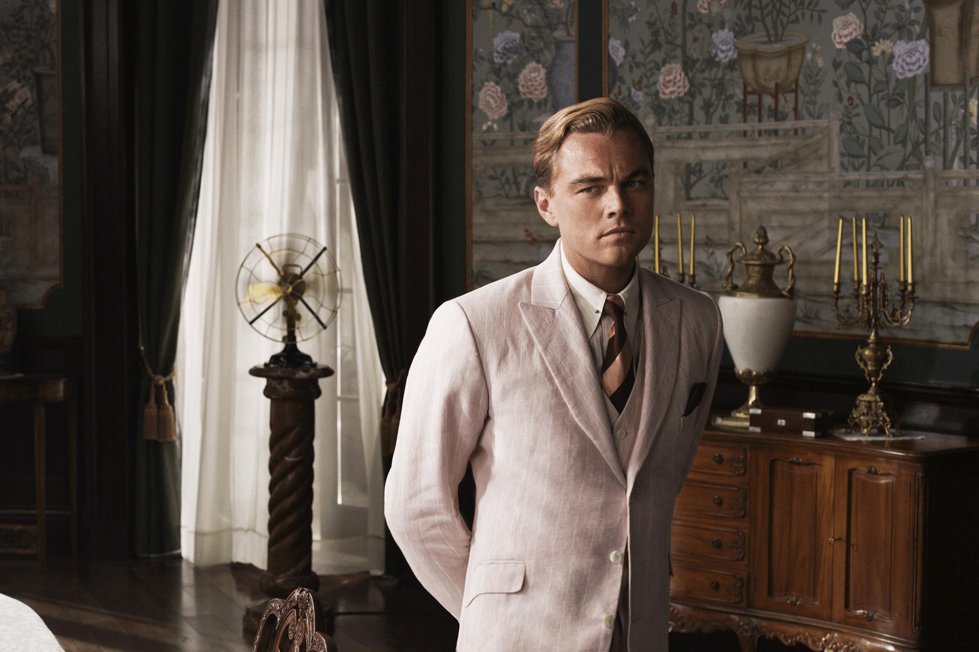 Great Gatsby Actor, Leonardo Di Caprio, Wearing Brooks Brothers