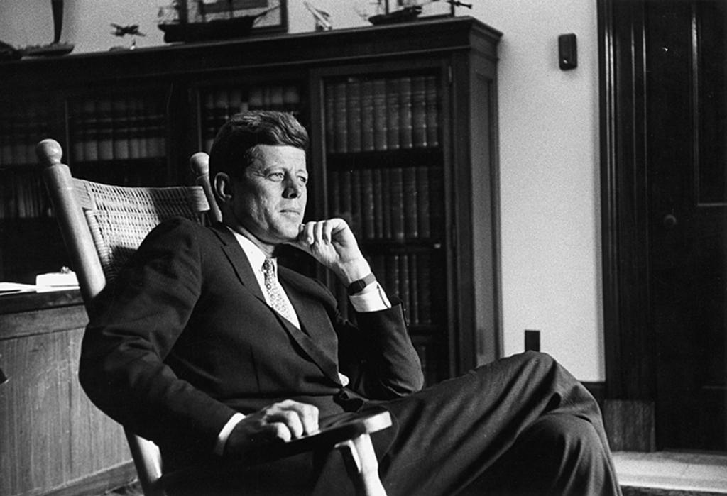 Kennedy Wearing Brooks Brothers Suit
