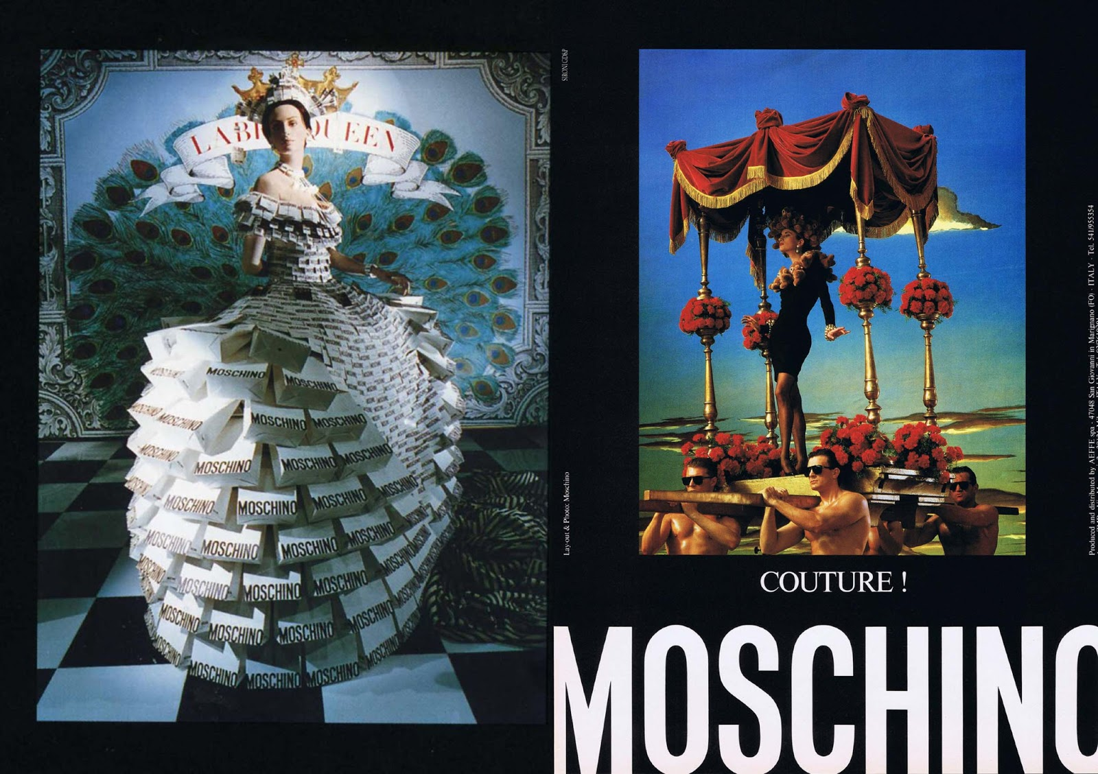 Moschino Fall/Winter 1988 Campaign