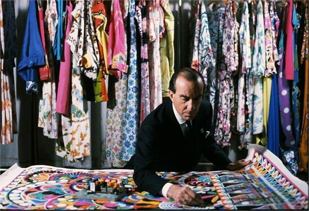 Emilio Pucci Portrait in Office