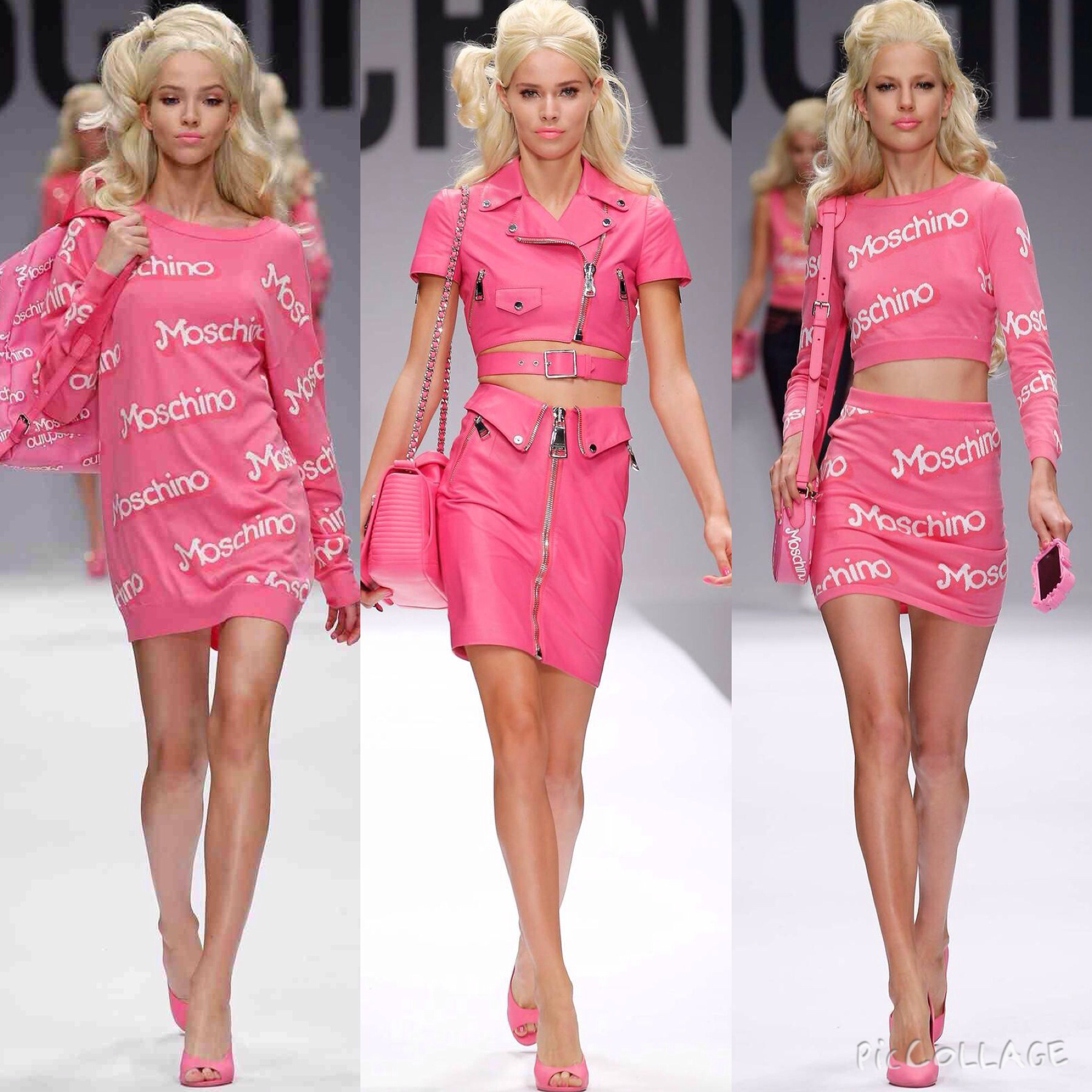 Moschino Barbie Spring/Summer 2015 Collection