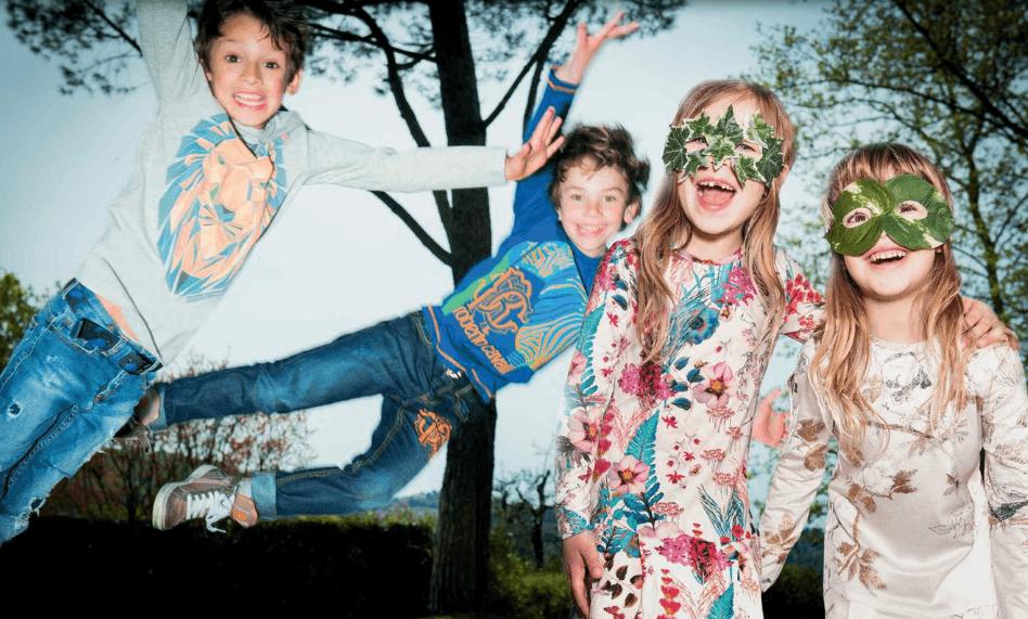 Roberto Cavalli Kids Line 2015